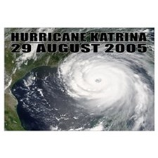 "Hurricane Katrina 17""x11"""