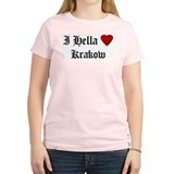 Hella Love Krakow Women's Pink T-Shirt