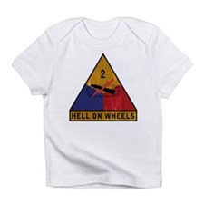 2nd Armored Division - Hell O Infant T-Shirt