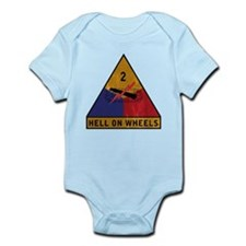 2nd Armored Division - Hell O Infant Bodysuit