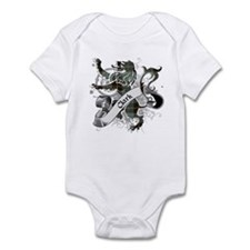 Clark Tartan Lion Infant Bodysuit