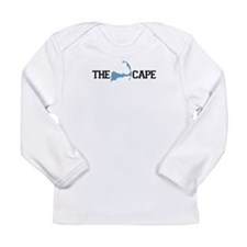 The Cape MA - Map Design Long Sleeve Infant T-Shir