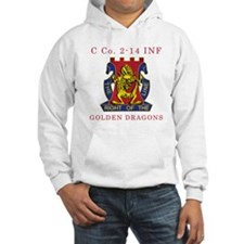 C Co 2-14 INF - Golden Dragon Hoodie
