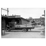 Kelly's Lumber Delivery Truck, 1926.