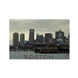 Boston Rectangle Magnet