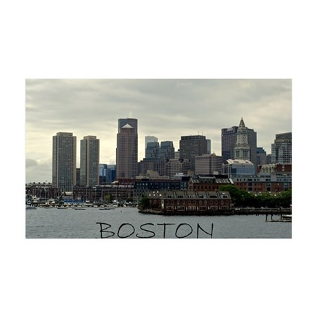 Boston 38.5 x 24.5 Wall Peel