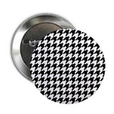 "Houndstooth Heaven 2.25"" Button"