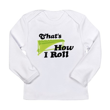 Pit Percussion Marimba Long Sleeve Infant T-Shirt
