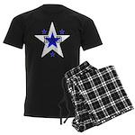 Dad w/stars Men's Dark Pajamas