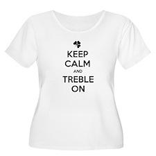 KEEP CALM TREBLE ON T-Shirt