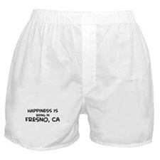 Happiness is Fresno Boxer Shorts
