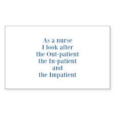 Nurses Decal