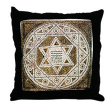 Ancient Magen David Throw Pillow