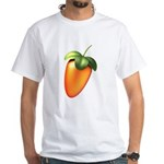 FL Logo Colored White T-Shirt