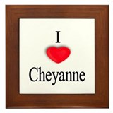 Cheyanne Framed Tile