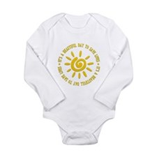 Grey's Anatomy Long Sleeve Infant Bodysuit