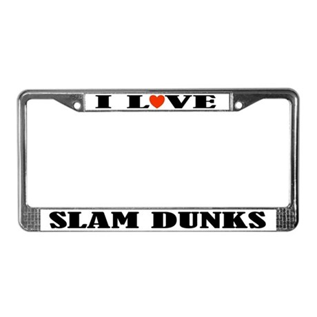 Basketball Sports License Plate Frame