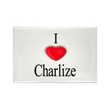 Charlize Rectangle Magnet