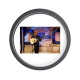 Cool 12 string guitarist Wall Clock