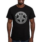 Quints Baphomet Logo Men's Fitted T-Shirt (dark)