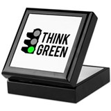 Think Green Keepsake Box