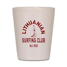 Lithuanian Surf Club Shot Glass