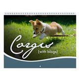3rd Annual Corgis (with blogs) Wall Calendar