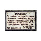 Sturminster Newton Bridge Plaque Magnet