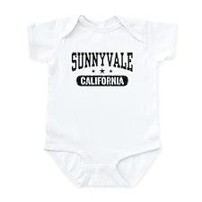 Sunnyvale California Infant Bodysuit