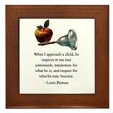 Pasteur on What a Child Is and May Become Framed T