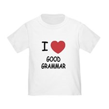 I heart good grammar T