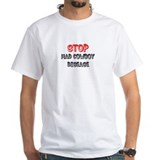 Stop Mad Cowboy Disease Shirt