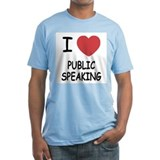 I heart public speaking Shirt