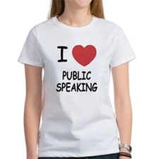 I heart public speaking Tee