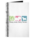 Peace, Love, Cairn Terriers Journal