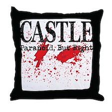 Bloody Paranoid Throw Pillow