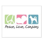 Peace, Love, Canaans Small Poster