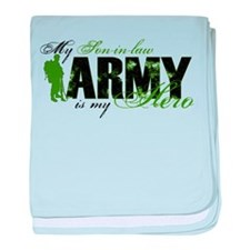 Son-in-law Hero3 - ARMY baby blanket