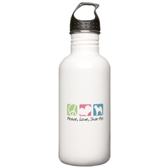 Peace, Love, Shar-Pei Stainless Water Bottle 1.0L