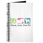 Peace, Love, Shar-Pei Journal