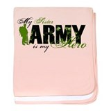 Sister Hero3 - ARMY baby blanket