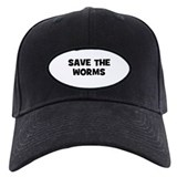 Save The Worms Baseball Cap