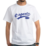 e-sports White T-Shirt