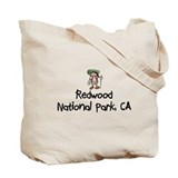 Hike Redwood (Girl) Tote Bag
