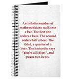 funny math joke Journal