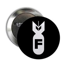 "F Bomb 2.25"" Button (10 pack)"