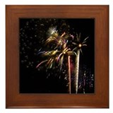 Framed Tile - Fireworks