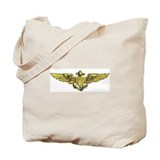 USN NAVAL AVIATOR WINGS Tote Bag