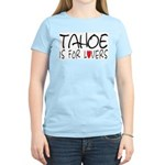 Tahoe Women's Pink T-Shirt