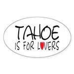 Tahoe Oval Sticker